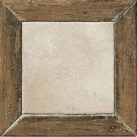 Керамическая плитка Coliseum Gres Гарда Фрейм белый 45х45см