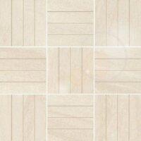 Керамическая плитка Paradyz MASTO Bianco Inserto B Polpoler декор 29.8х29.8