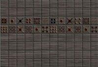 Керамическая плитка Керамин Калипсо 3 декор серый 27.5х40см