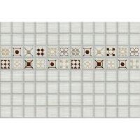 Керамическая плитка Керамин Калипсо 7 декор белый 27.5х40см