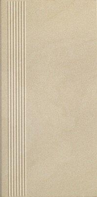 Керамическая плитка Paradyz ROCKSTONE Beige ступень простая mat 29.8x59.8