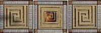 Керамическая плитка Сeramica Сlassic Петра Комплект стеклянных вставок 5.5х5.5