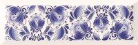 Керамическая плитка Gracia Ceramica Gzhel decor 01 100х300