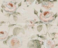 Керамическая плитка Gracia Ceramica Garden Rose beige panno 01 600х500