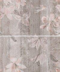 Керамическая плитка Gracia Ceramica Kallisto grey panno 01 500х600
