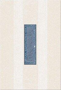 Керамическая плитка Azori Камлот Индиго Креш Декор 27.8x40.5