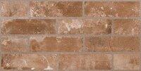 Керамическая плитка ZeusCeramica Brickstone RED настенная 30.4х60.4