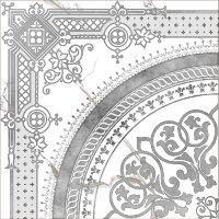 Керамическая плитка Grasaro Marble Classic декор угловой G-270/G/d02 40х40см