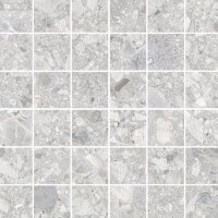 Мозаика Vitra Ceppostone Серый Матовый R10B 7Рек 5x5 30х30 K9474338R001VTE0