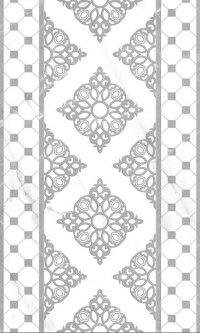 Керамическая плитка Gracia Ceramica Elegance grey decor 01 300х500