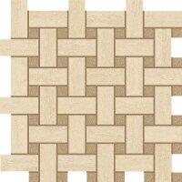 Керамическая плитка Italon 600110000059 Travertino Navona Mosaico Lounge 30.5х30.5