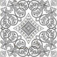 Керамическая плитка Grasaro Marble Classic декор центральный G-270/G/d04 40х40см