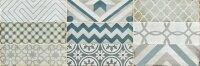 Керамическая плитка Gracia Ceramica Collage white wall 02 100х300