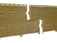 Фасадная панель Ю-Пласт Хокла Винтаж Охра (2000х250мм) 0.5м²