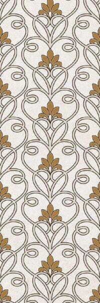 Керамическая плитка Gracia Ceramica Silvia beige decor 02 300х900