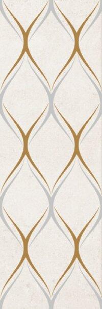 Керамическая плитка Gracia Ceramica Silvia beige decor 03 300х900