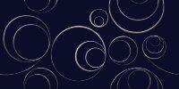 Керамическая плитка Kerlife Stella Arabesco Blu декор синий 31.5x63см