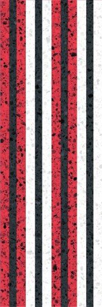Керамическая плитка Gracia Ceramica Molle red decor 02 300х900