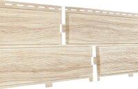 Фасадная панель Ю-пласт Хокла Лиственница светлая (2000мм*250мм) 0.5м²