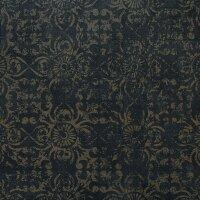 Керамическая плитка ZeusCeramica Cemento Nero напольная с рисунком 45x45