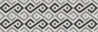 Керамическая плитка Gracia Ceramica Molle black decor 01 300х900
