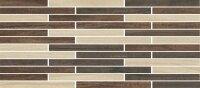 Керамическая плитка Paradyz HASEL бордюр MIX PASKI 21.5x49.1