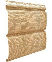 Cайдинг виниловый Ю-Пласт Тимбер-Блок Дуб золотой (3400х230мм) 0.78м²