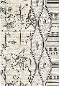 Керамическая плитка Azori Сатти Беж кроше Декор 27.8x40.5