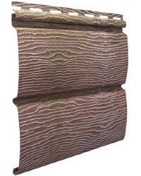 Cайдинг виниловый Ю-Пласт Тимбер-Блок Дуб натуральный (3400х230мм) 0.78м²