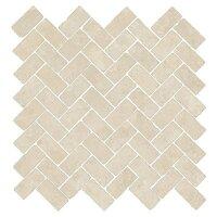 Керамическая плитка Italon 620110000091 Genesis Moon White Mosaico Cross 31.5x29.7