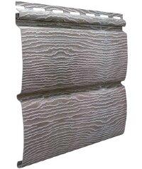 Cайдинг виниловый Ю-Пласт Тимбер-Блок Дуб серебристый (3400х230мм) 0.78м²