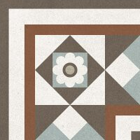 Керамическая плитка Gracia Ceramica Longo multi decor 01 200х200