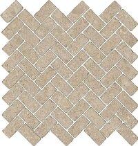 Керамическая плитка Italon 620110000092 Genesis Cream Mosaico Cross 31.5x29.7