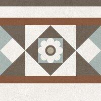 Керамическая плитка Gracia Ceramica Longo multi decor 02 200х200