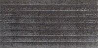Керамическая плитка Paradyz Клинкер Bazalto Grafit Struktura 2 подступенник 14.8x30