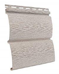 Cайдинг виниловый Ю-Пласт Тимбер-Блок Ясень беленый (3400х230мм) 0.78м²