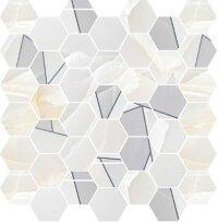 Керамическая плитка Delacora Onyx Titan Декор Mosaic 31.6x29.7