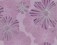 Керамическая плитка Kerlife Splendida Malva панно сиреневый 40.2x50.5см