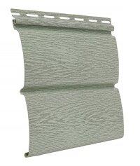 Cайдинг виниловый Ю-Пласт Тимбер-Блок Ясень прованс зеленый (3400х230мм) 0.78м²