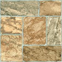 Керамическая плитка Grasaro Pave Style коричневый G-511/S 40х40см