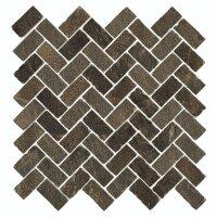 Керамическая плитка Italon 620110000095 Genesis Brown Mosaico Cross 31.5x29.7